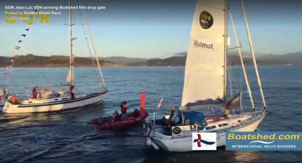 Greeting the Golden Globe Race